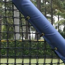 Padding Duggout Rails Protective Netting Systems Outdoor Indoor