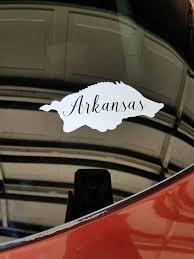 Arkansas Razorback Car Decal Arkansas Arkansas Razorbacks Razorbacks