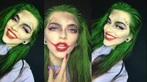 easy joker halloween makeup you