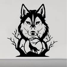 Animal Camper Decals In 2020 Wolf Howling Wolf Silhouette Vinyl Decals