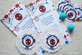 Merbo Events Invitaciones Para Cumpleanos De Spiderman
