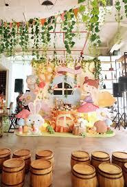 garden fairy 1st birthday party