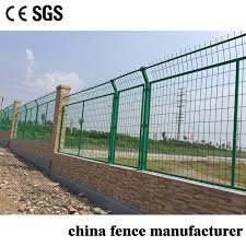 China Farm Grassland Security Protection Pvc Coated Metal Frame Boundary Wall Wire Mesh Fence China Fence Pvc Coated Fence