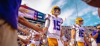 Some might say Myles Brennan has been living in the shadow of LSU's former  star quarterback. But for him, it's been a good place to be - [225]