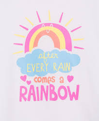 short sleeve print t shirt rainbow quote happy quotes happy words