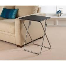 folding side table living room