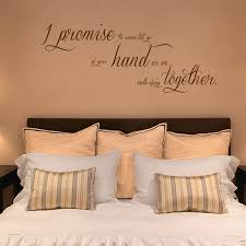 I Promise To Never Let Go Quote Wall Decals Stickers Graphics