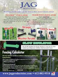 4 Livestock Species And Their Electric Fence Needs Jag Products Inc