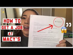 get hired at macy s interview tips