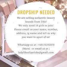 makeup dropship msia saubhaya makeup