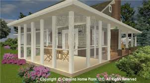 house plans screened in porch plans