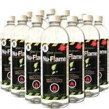 nu flame bio ethanol fireplace fuel 6