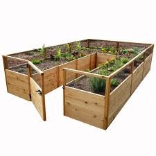 Outdoor Living Today 8 Ft X 12 Ft Garden In A Box Rb812 The Home Depot