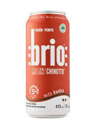 brio hard soda with vodka lcbo