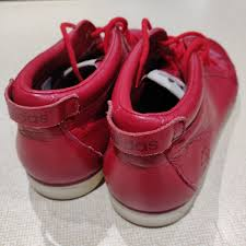 ransom adidas in red leather superb