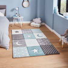 Brooklyn Kids Brooklyn Kids 20340 Blue Rugs Buy Brooklyn Kids 20340 Blue Rugs Online From Rugs Direct