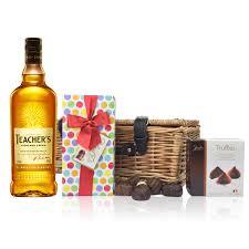 highland cream whisky and chocolates