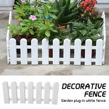 1pcs Diy Miniature Small Wood Fence Christmas Tree Fence White Christmas Decorations Merry Christmas Gift 50 30cmdrop Shipping Trees Aliexpress