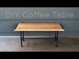 diy pipe coffee table you