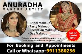 anuradha makeup artist in rohini delhi