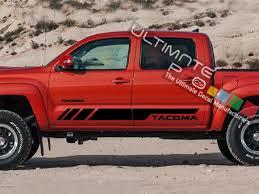Set Of Sport Side Door Stripes Decal Sticker Vinyl Toyota Tacoma
