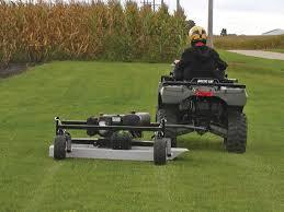 summer job atv mowing ing tips