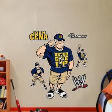 Fathead Wall Decal Real Big Wwe Kids John Cena Mercado Libre
