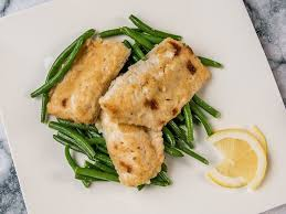 Crunchy Nile Perch with Green Beans in ...