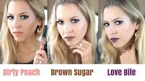 kylie cosmetics new shades dirty peach