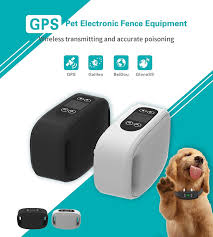 Sixin Gps Electric Dog Fence In Ground Aboveground Pet Containment System Ip66 Waterproofandrechargeable Collar Shockandt In 2020 Pet Containment Systems Dog Fence Gps