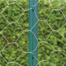 Everbilt 2 1 4 In X 2 1 2 In X 4 Ft Green Steel Fence U Post 901154eb The Home Depot In 2020 Steel Fence Wire Mesh Fence Steel Fence Posts
