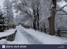 Driveway Fence High Resolution Stock Photography And Images Alamy