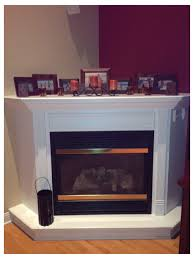 deep corner fireplace mantel