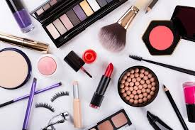 types of cosmetics
