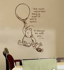 Classic Pooh Wall Decal By Wildgreenrose On Etsy Winnie The Pooh Nursery Disney Themed Nursery Wall Decals