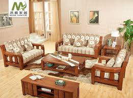 china wooden sofa set china wooden