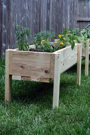 elevated off ground garden beds with