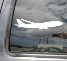 Airliner Aircraft Passenger Jet Pilot Car Window Vinyl Decal Sticker 10326 Ebay