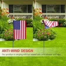garden flag plastic stopper stops