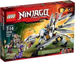 Amazon.com: LEGO Ninjago Titanium Dragon Toy (Discontinued by ...