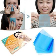 oil absorbing face paper tissue makeup