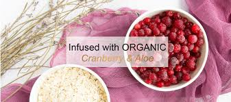 cranberry fruit makeup remover pads