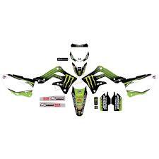 D Cor Visuals Monster Kawasaki 2019 Complete Graphic Kit 20 20 739 Dirt Bike Motocross Dennis Kirk