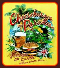 4 Jimmy Buffett Cheeseburger In Paradise Vinyl Sticker Country Music Decal Ebay