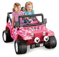Fisher Price Power Wheels Disney Minnie Mouse Jeep Walmart Com Walmart Com
