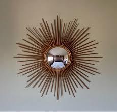 y vallauris sunburst convex mirror