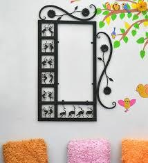 black wrought iron decorative wall art