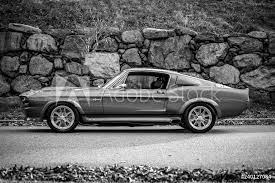 Window Stickers 1967 Mustang Vintage Muscle Car Nikkel Art