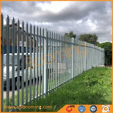 China Galvanized Powder Coated Picket Palisade Steel Security Fencing Panels China Safety Fence Security Fence