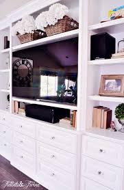 designing a built in tv cabinet